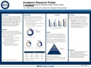 Academic Research Poster Subtitle for Academic Research Poster