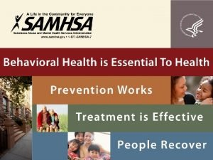 Integrating Primary and Behavioral Health Care Filipino American