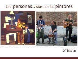 Las personas vistas por los pintores Imagen en