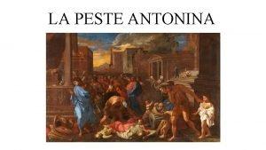 LA PESTE ANTONINA La Peste Antonina 165 192