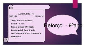 Contedos P 1 2805 91 3005 92 Texto
