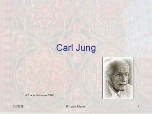 Carl Jung Lucie Johnson 2003 322021 Lucie Johnson