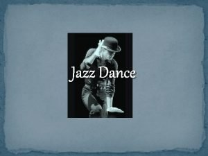 Jazz Dance The Beginning SYNCOPATION using the Upbeat