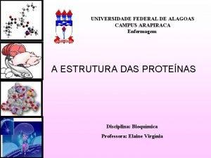 UNIVERSIDADE FEDERAL DE ALAGOAS CAMPUS ARAPIRACA Enfermagem A