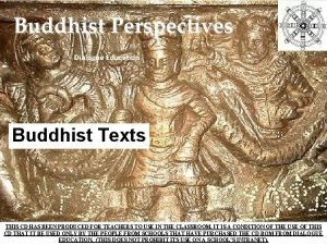 Buddhist Perspectives Dialogue Education Buddhist Texts THIS CD