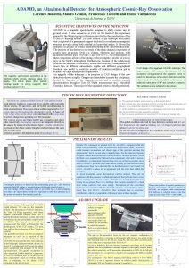 ADAMO an Altazimuthal Detector for Atmospheric CosmicRay Observation