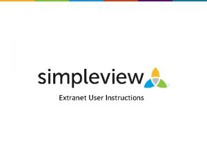 Extranet User Instructions Filters and Data Grids Before