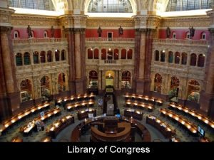 Library of Congress National Library of China Trinity