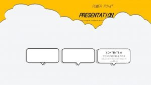 POWER POINT PRESENTATION Power Point is a computer
