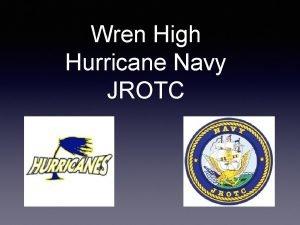 Wren High Hurricane Navy JROTC Myth Busters What