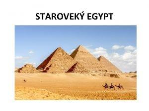 STAROVEK EGYPT Doln Egypt delta Nlu Egypt Rieka