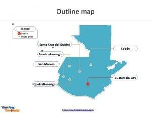 Outline map Legend Capital Major cities Santa Cruz