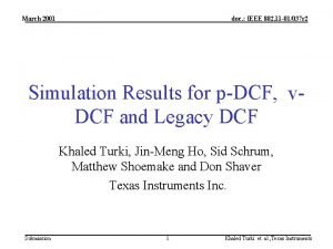 March 2001 doc IEEE 802 11 01037 r