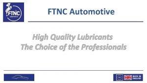 FTNC Automotive FTNC Automotive FTNC Automotive FTNC Automotive