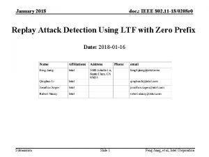 January 2018 doc IEEE 802 11 180208 r