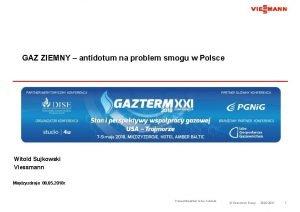 GAZ ZIEMNY antidotum na problem smogu w Polsce