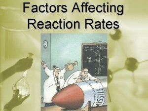 Factors Affecting Reaction Rates Factors Affecting Reaction Rates