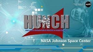 National Aeronautics and Space Administration NASA Johnson Space