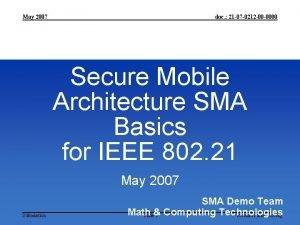 May 2007 doc 21 07 0212 00 0000