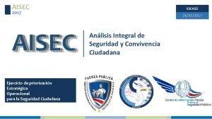 AISEC ESCAZ 2017 AISEC Ejercicio de priorizacin Estratgica