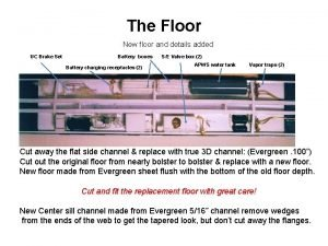 The Floor New floor and details added UC