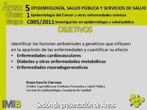 5 EPIDEMIOLOGA SALUD PBLICA Y SERVICIOS DE SALUD
