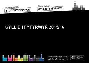 CYLLID I FYFYRWYR 201516 CYNNWYS Y SESIWN Adran
