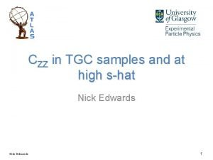 CZZ in TGC samples and at high shat