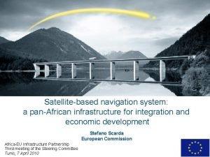 Satellitebased navigation system a panAfrican infrastructure for integration