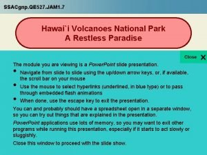 SSACgnp QE 527 JAM 1 7 Hawaii Volcanoes