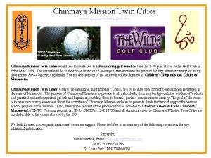 Chinmaya Mission Twin Cities www chinmayatwincities org Chinmaya