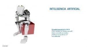 INTELIGENCIA ARTIFICIAL El cerebro natural y el artificial