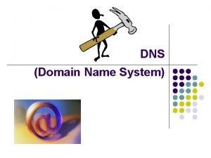 DNS Domain Name System Domain Name System DNS