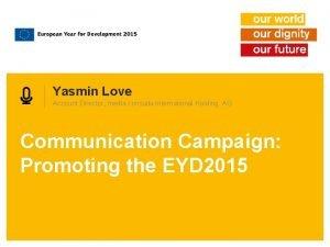Yasmin Love Account Director media consulta International Holding