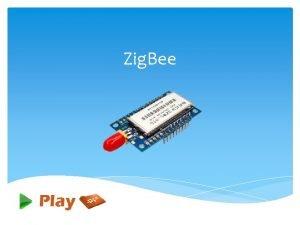 Zig Bee What is Zig Bee Zig Bee