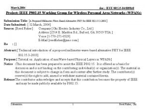 March 2004 doc IEEE 802 15 040098 r
