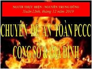 NGI THC HIN NGUYN TRUNG DNG Xun Lnh