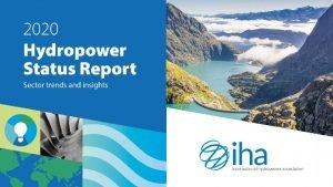 Publication presentation 2020 Hydropower Status Report The report