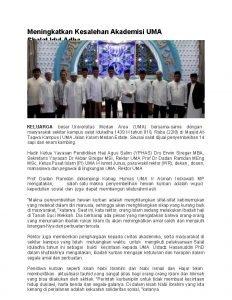 Meningkatkan Kesalehan Akademisi UMA Shalat Idul Adha KELUARGA