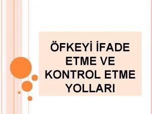 FKEY FADE ETME VE KONTROL ETME YOLLARI FKENZ
