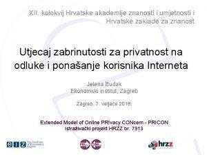 XII kolokvij Hrvatske akademije znanosti i umjetnosti i