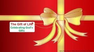 The Gift of Life Celebrating Gods Gifts Larry