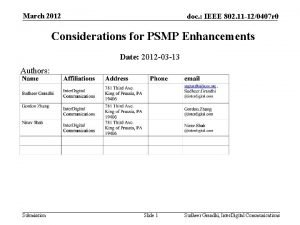 March 2012 doc IEEE 802 11 120407 r