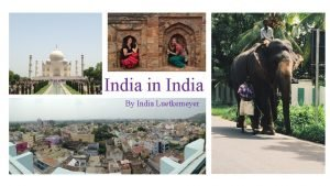 India in India By India Luetkemeyer Vellore India