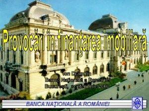 BANCA NAIONAL A AROM NIEI BANCA NAIONAL ROM