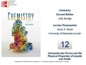 Chemistry Second Edition Julia Burdge Lecture Powerpoints Jason