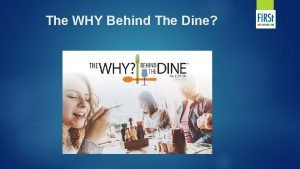The WHY Behind The Dine Canadas Demographics Canadas