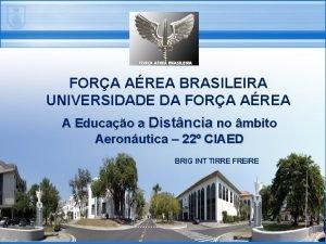 FORA AREA BRASILEIRA UNIVERSIDADE DA FORA AREA A