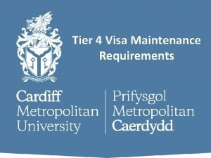 Tier 4 Visa Maintenance Requirements What Documents Do