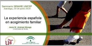 Seminario SENAME UNICEF Santiago 29 30 junio 2010